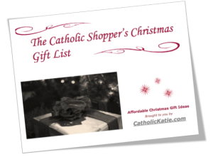 Catholic Chirstmas Gift List