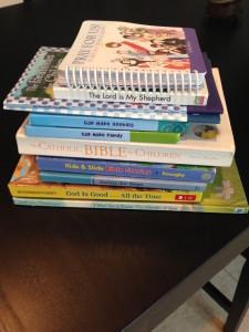 Catholic toddlers library 1