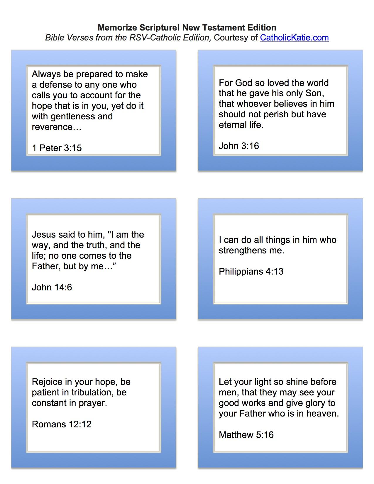 Memorize Scripture-NT_CatholicKatie.com