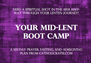 Mid-Lent Boot Camp image